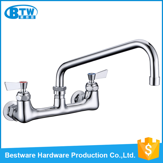hot cake 8 wall mounted commercial kitchen sink faucet with 12 rh aliexpress com moen commercial kitchen sink faucets commercial kitchen sink faucet with sprayer