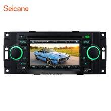 Seicane wince 6,0 5 дюймов 2 din dvd-радио gps Bluetooth Системы для 2002-2008 Dodge Оперативная память с WI-FI AUX 800*480 TFT ЖК-дисплей экран