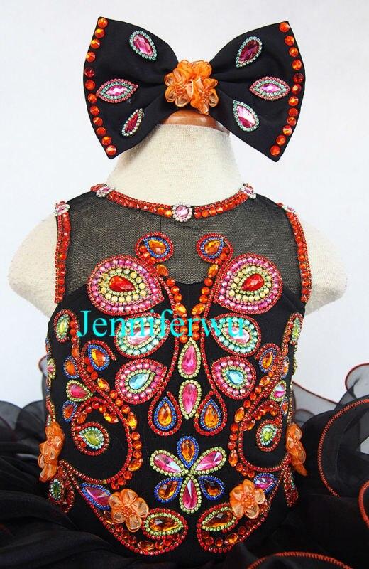 flower girl dresses  girl party dresses children baby dresses 1T-6T EB205-6