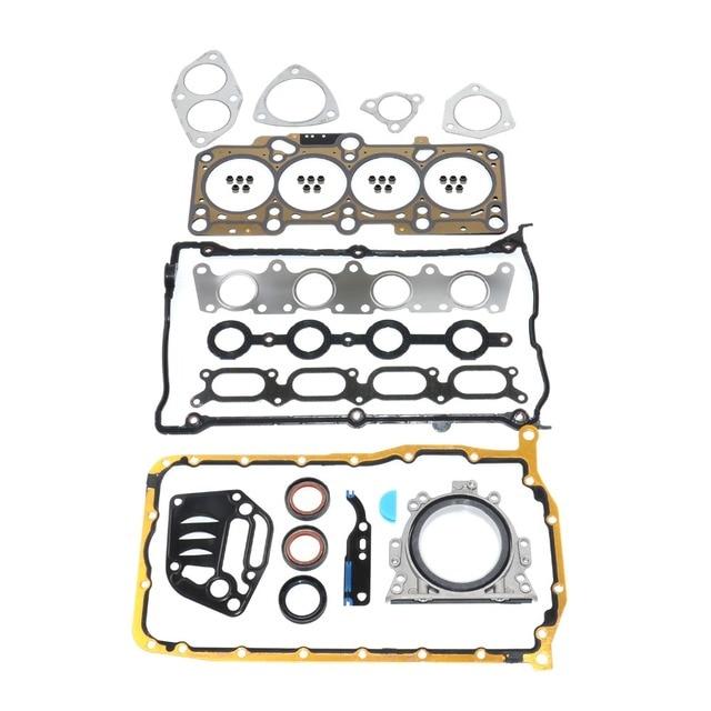 AP01 Engine Cylinder Head Gasket Set For TT VW BORA BEETLE GOLF PASSAT FOR Audi A3 8L1 1.8 T 06A198012A 06A198012  06A 198 012 A 2