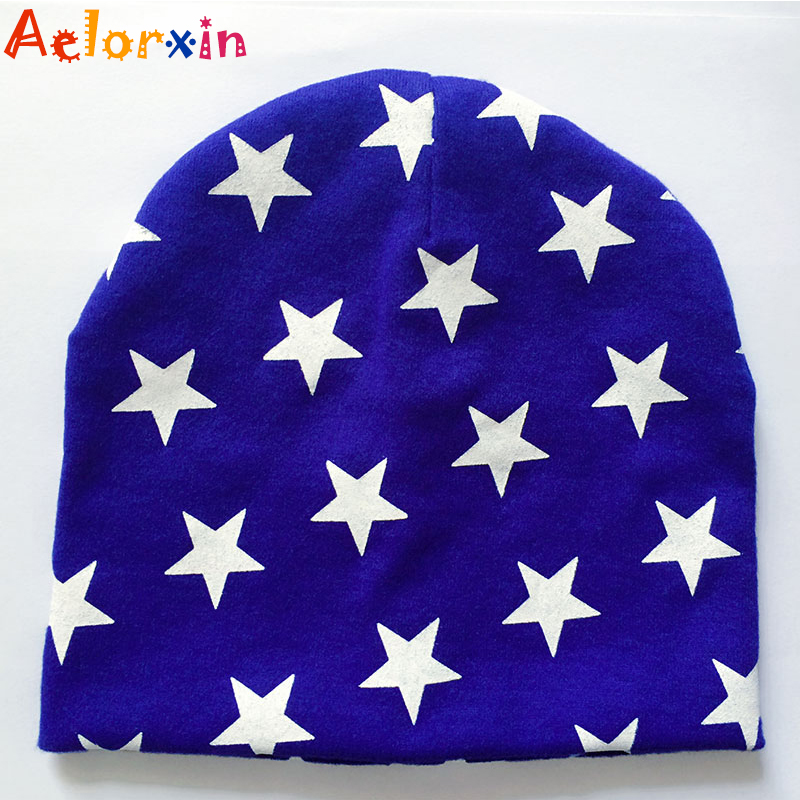 Aelorxin 2016 Winter Autumn Baby Hat Boy Girl Cap Unisex Beanie Star Infant Children Hats Cotton Knitted Toddlers New Baby Caps