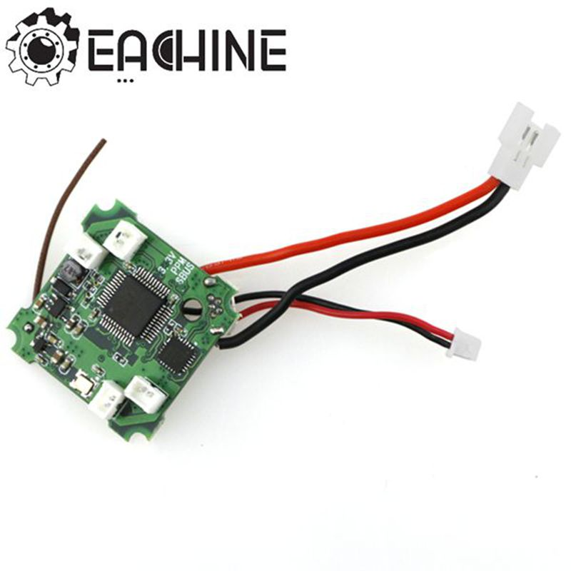Micro F3 Flight Controller Board Buited In DSM / FLYSKY / FRSKY Receiver For Eachine E010S цена 2016