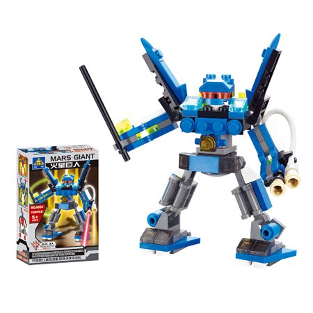 Robot Series War Giant Children Plastic DIY Assemble Building Block Toys Set Christmas Gift - Kim Yang's Shop store
