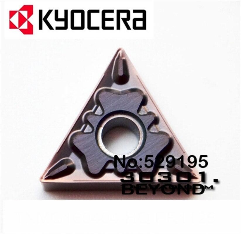 TNMG160404 HQ PR1125 TNMG160408 HQ PR1125 kyocera Carbide Tip Lathe Insert boring Bar machine TNMG160404 HQ