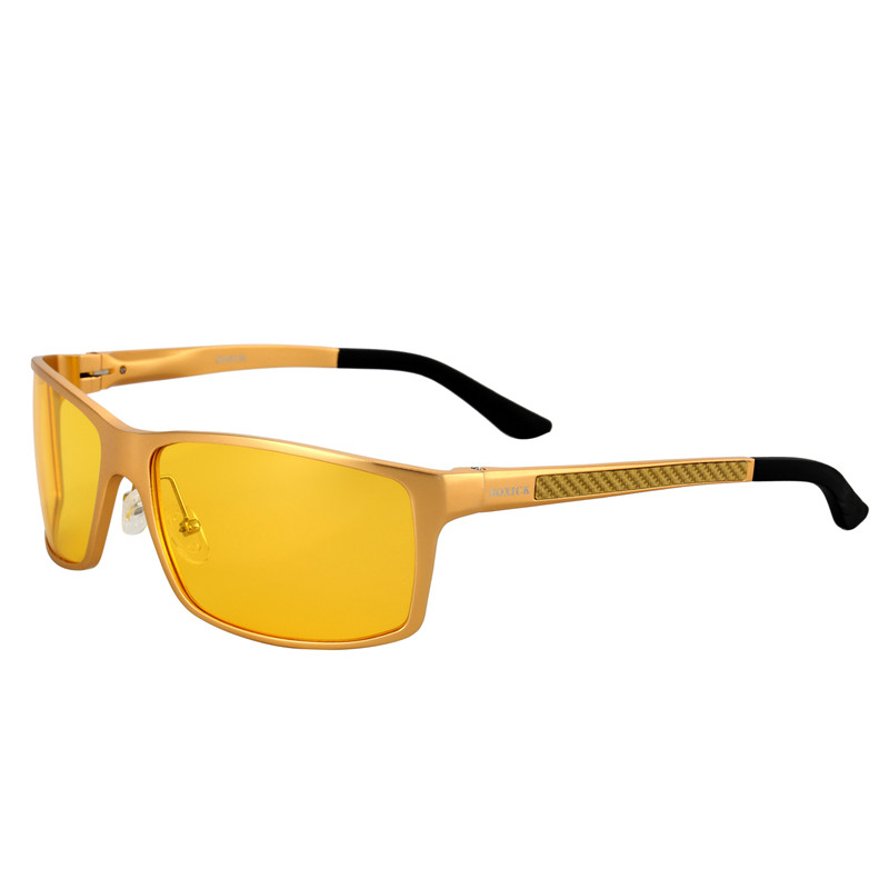 58af5c3e51 SOXICK Brand Eyewear with Case Yellow Lens Night Vision Sunglasses for Men  Women Safety Anti Glare