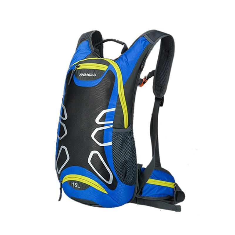 Anmeilu Bicycle Climbing Basket Cycling Backpacks Rainproof Road Bike Mountaineering Camping Hiking Durable Colorful Nylon Bags