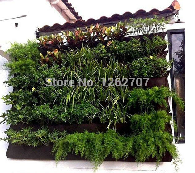 Hanging Wall Pot With 12 Pockets Specical Planting Bag Plant Pots For Vegetable Balcony Vegetables Plastic In Flower Planters From Home