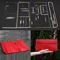 1 Set Acrylic Leather-based Template Dwelling Handwork Leathercraft Stitching Sample Instruments Accent Envelope bag 24.5*31*2cm HTB1CnHWvf5TBuNjSspmq6yDRVXaX