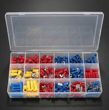 300pcs Insulated Electrical Wire Terminals Crimp Connector Spade Set