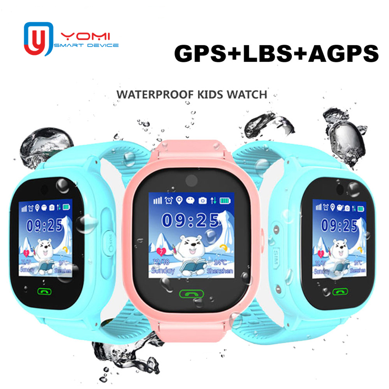 Kids Smart Watch TD05 IP67 Waterproof GPS WIFI LBS Tracker SOS Call Voice Chat Wearable Anti-lost Tracker Smartwatch for Child 1pcs 2017 new gps tracking watch for kids q610s baby watch lbs gps locator tracker anti lost monitor sos call smartwatch child page 6