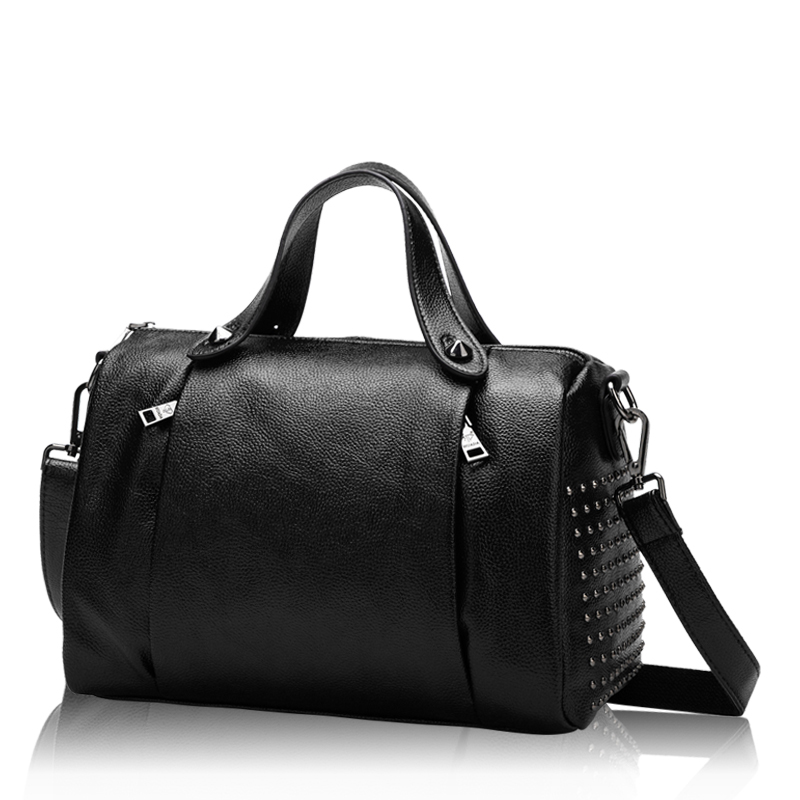 2018 New Style Genuine Leather Handbag European and American Style Real Leather Pillow Shoulder Bags Zipper Tote Bags HD651217