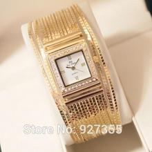 2014 Hong kong Original Women Watches! Austrian Crystal Rhinestone Watches Luxury Quicksand Dress Watch Bracelet