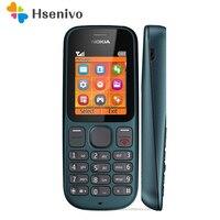 100 Оригинал Nokia 100 1000 FM радио разблокированный Оригинальный хорошего качества мобильный телефон один год гарантии отремонтированный