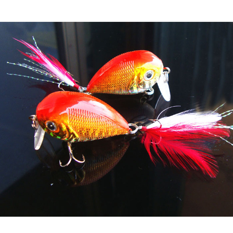 Horgászfésű hajtókar 4cm 6,6 g zabpiros - Halászat