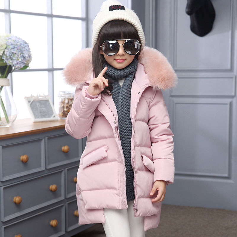 2016 Fashion Girl's Down jackets/coats winter Russia baby Coats thick duck Warm jacket Children Outerwears -30degree jackets fashion girl winter down jackets coats warm baby girl 100% thick duck down kids jacket children outerwears for cold winter b332
