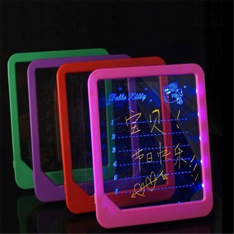 LED Writing Board 22.5*20 ABS Screen Fluorescent Board Display Board  For Advertising Restaurant Menu Art