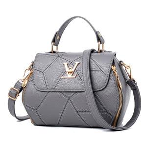 Image 5 - 2019 neue Frau Mode V Buchstaben Designer Handtaschen Luxus Qualität Dame Schulter Umhängetaschen Heiße Messenger Tasche