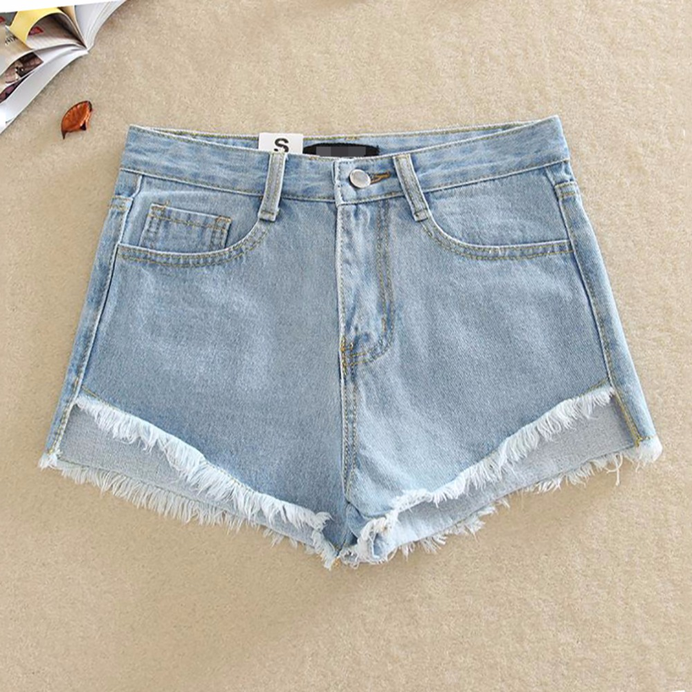 Tengo Summer Women Shorts Club High Waist  Denim Shorts Sexy Hip Hop Ripped Shorts Mini Short Jeans Pants Plus Size 4 Colors 2017 new fashion elastic high waist shorts feminino denim shorts for women slim pants blue jeans short plus size 34 cheap bands
