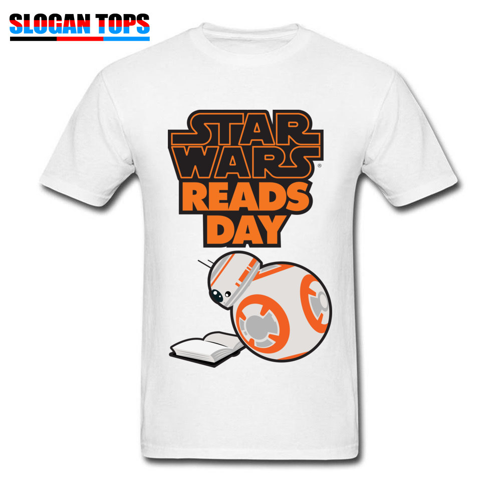 Men T-Shirt star wars aftermath Printed On Tops Tees 100% Cotton Round Neck Short Sleeve Normal Tee-Shirts VALENTINE DAY star wars aftermath white