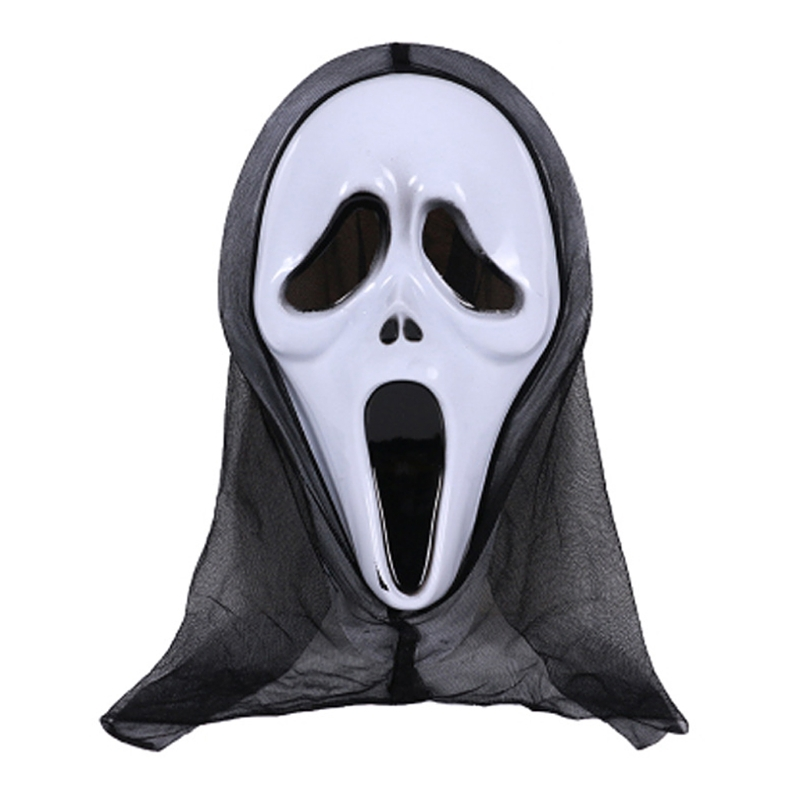 HBB 1PC Halloween Mask Skull Ghost Scary Terror Scream Masquerade Party Cosplay Costume For Adults Kids Boys Girls