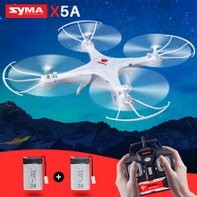 SYMA Original X5A Quadrocopter RC Helicopter 6 Axis Gyro Dron RC Drone Shatterproof Aircraft Without Camera Toys For Children original red white syma s39 2 4g 3ch rc helicopter gyro led flashing aluminum anti shock remote control toy rc drone dron