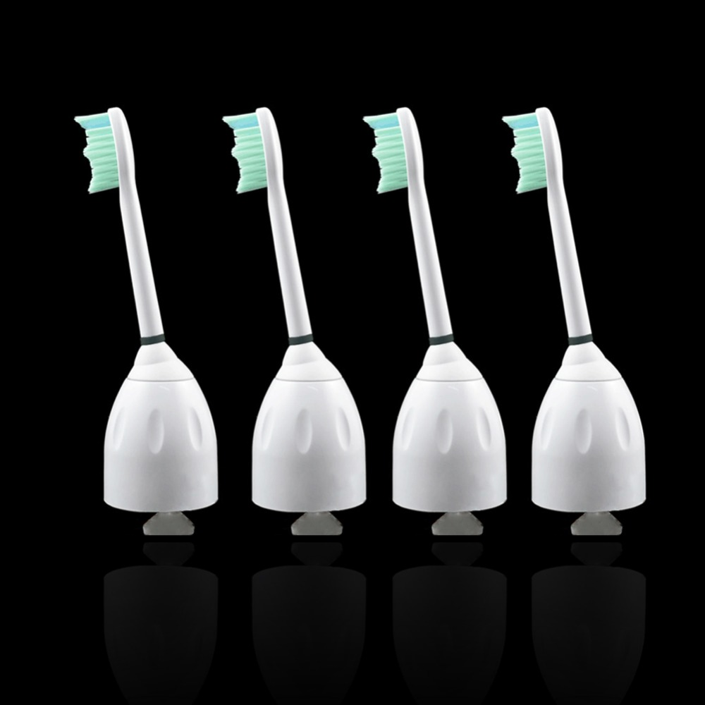 2pcs  For Philips Sonicare e-Series  Replacement Electric Toothbrush Heads HX7001 HX-7002 HX7022 For Oral Hygiene Christ Gift 2pcs philips sonicare replacement e series electric toothbrush head with cap