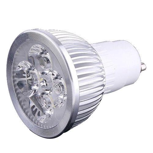 4 LED GU10 Light Bulb 4W Cold White 85-265V tools
