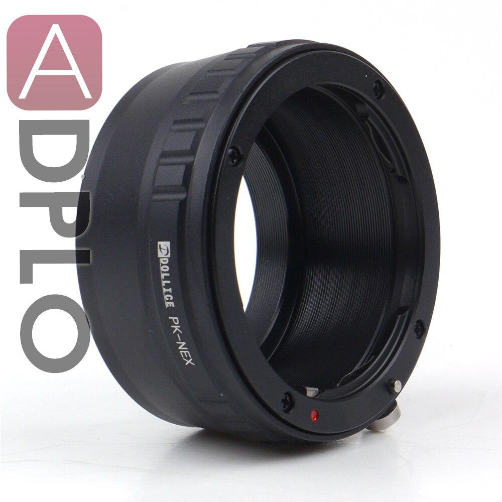 Nuevo lente adaptador Suit para Pentax K lente para Sony E montaje NEX Cámara