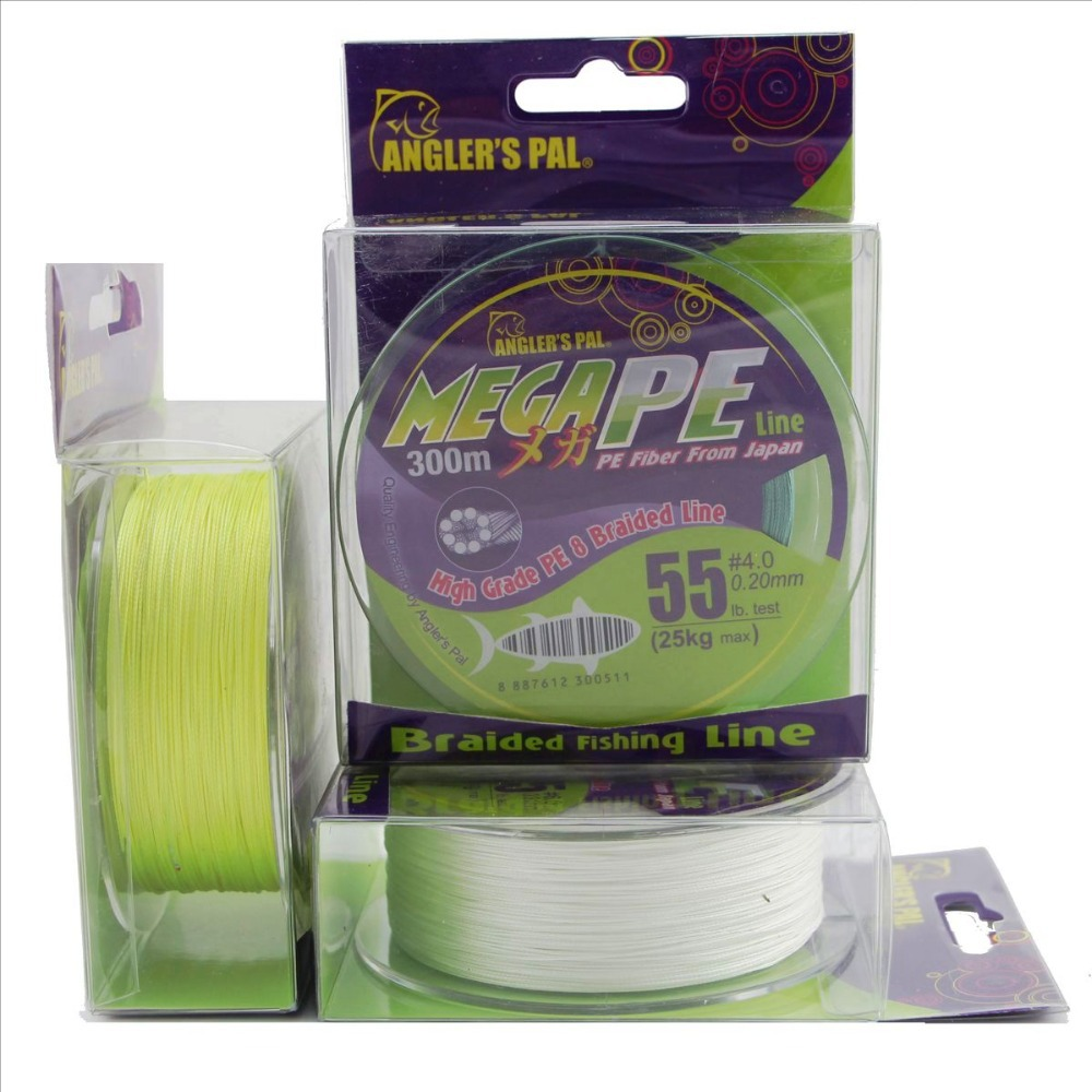 Fishing-Line Braid Multifilament Anglers Pe X8 Japan 500M 300M 8strands Pal MEGA