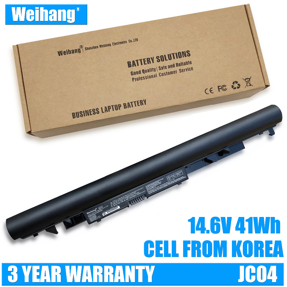 Weihang 14.6V 41Wh JC04 JC03 Laptop Battery For HP 15-BS 15-BW 17-BS SERIES HQ-TRE71025 HSTNNHB7X TPN-C130 919701-850