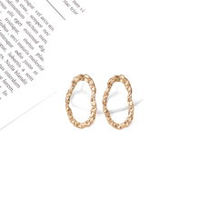 New Arrive Hot Style Brincos Bijoux Statement Irregular Metal Drop Earrings Jewelry Accessories For Women Wholesale