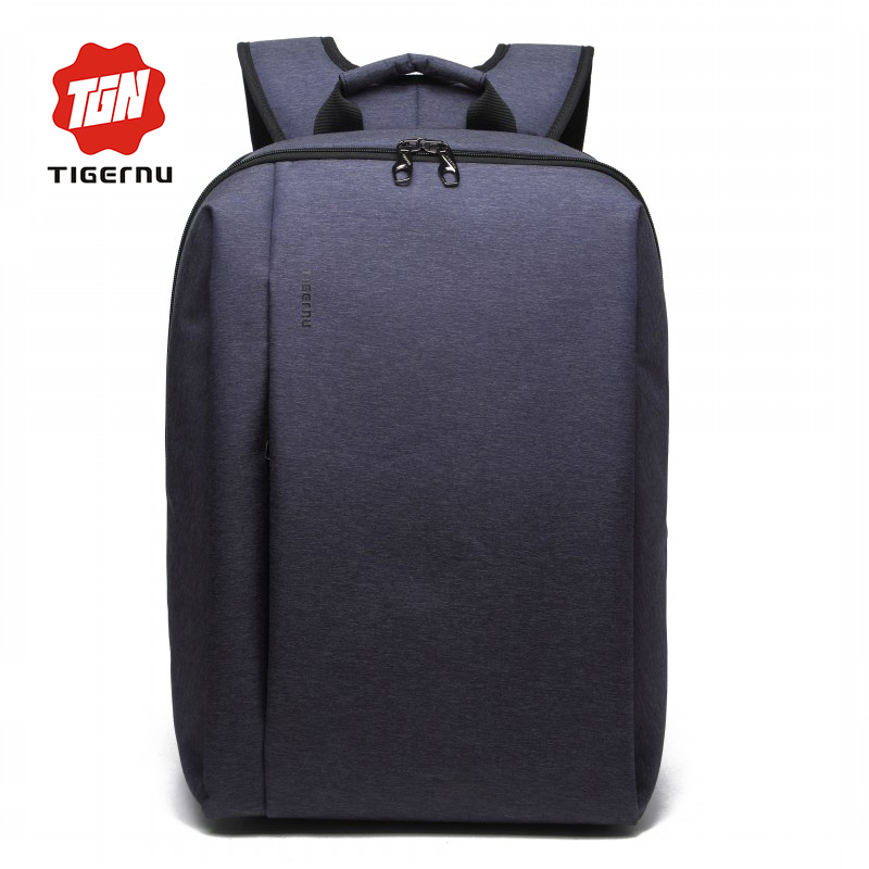 Newest 2017 Laptop 15.6 Backpack for Computer 14.1 Inch Notebook Bag Mochila Nylon Male Tigernu Brand High Quality !!!!
