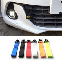 Reboque reboque Corda de Nylon de Alta Resistência Tow Strap Eye Tow Cordas Racing Car Universal Pára Reboque Cordas do Reboque