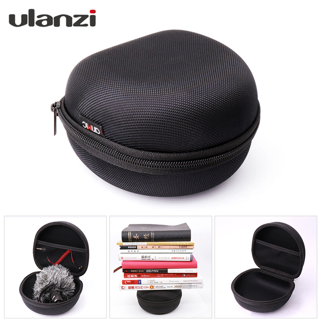 Ulanzi AriMic Microphone Portable Protector Box Protective Hard Case Pouch Storage Bag for Arimic Rode Videomicro Microphone