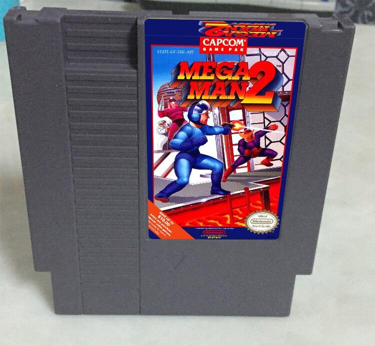 Mega Man 2 Game card 72pin 8 bit Game cartridge Drop shipping!