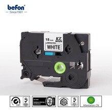 6 шт./лот 18 мм Смешанные Цвет тесемка принтера совместимый для Brother P-Touch P touch pt принтер этикеток Цзы Ленты
