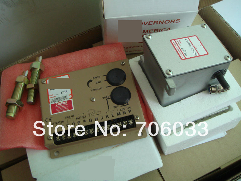 ESD5111 series speed governor with one actuator ADC225  +free shipping