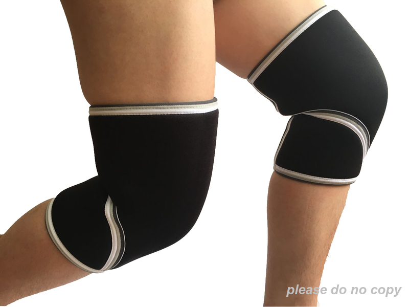 7mm knee sleeve knee supports with logo custom for weightlifting, crossfit, powerlifting ...