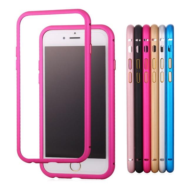 Depper Rosa Para iPhone 6/6 s iPhone Parachoques Protector Casos ...