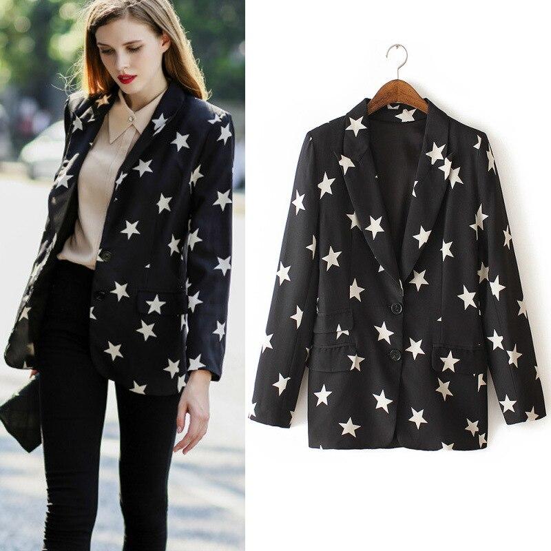 Online Get Cheap Womens Patterned Blazers -Aliexpress.com ...