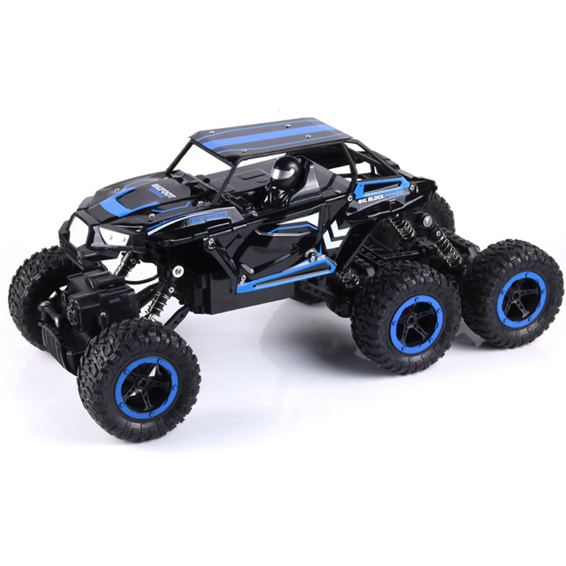 34cm Large 1:12 6WD RC Cars Updated Version 2.4GHZ Radio Control RC Cars Buggy 2018 High speed Off-Road Trucks Toys for Children large 1 12 4wd rc cars 2 4g radio control rc cars toys buggy high speed off road rock crawler monster trucks toys for children