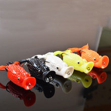 TOMA HOT! 6pcs Fishing frog Lure for fishing tackle 6CM/15G Topwater fishing artificial Lure frog bait