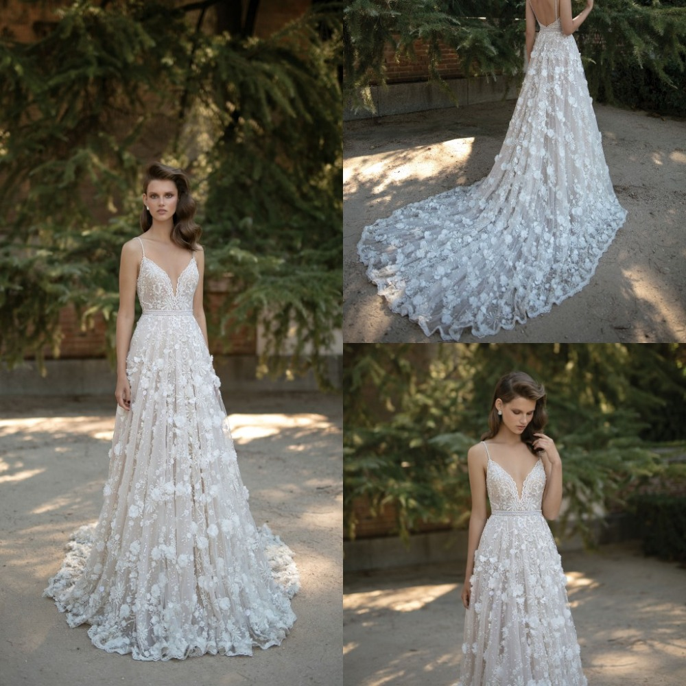 2016 Vintage Wedding Dresses A Line Plus Size Organza Applique