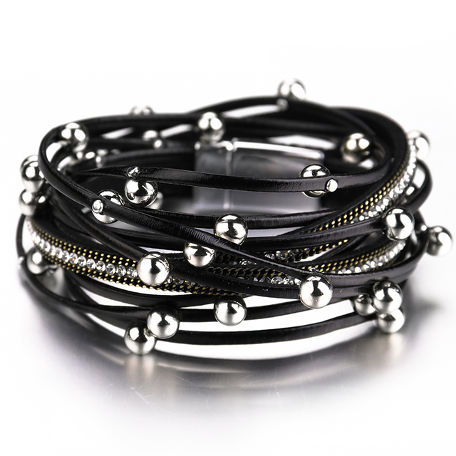 Women's Bohemian Style Leather Bracelets