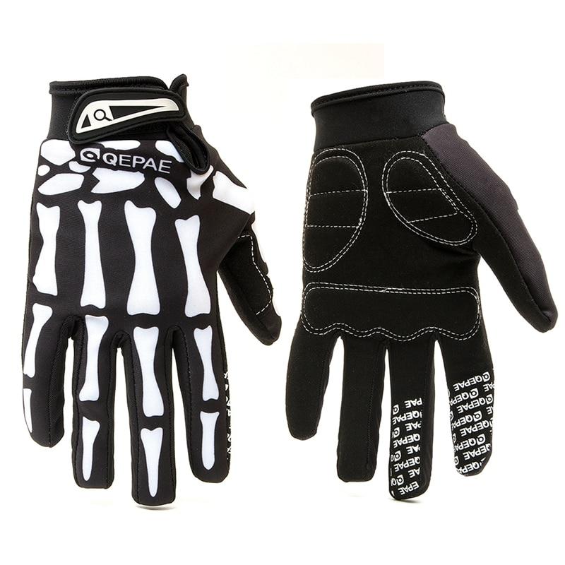 Qepae Outdoor Motorrad Handschuhe Volle Finger Guantes Moto Racing/Skifahren/Klettern/Fahrrad/Reiten Sport Winddicht Motocross handschuhe