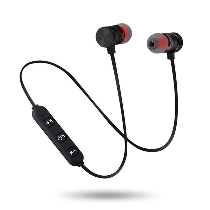 Newest Bluetooth Headphones Wireless In-Ear Noise Reduction earphone with Microphone Sweatproof Stereo Bluetooth Headset
