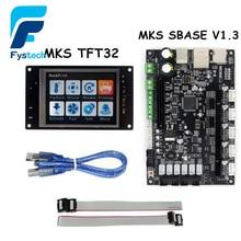 3D-принтеры Запчасти МКС TFT32 контроллер Дисплей + МКС sbase V1.3 smoothieboard 32-бит с открытым исходным кодом