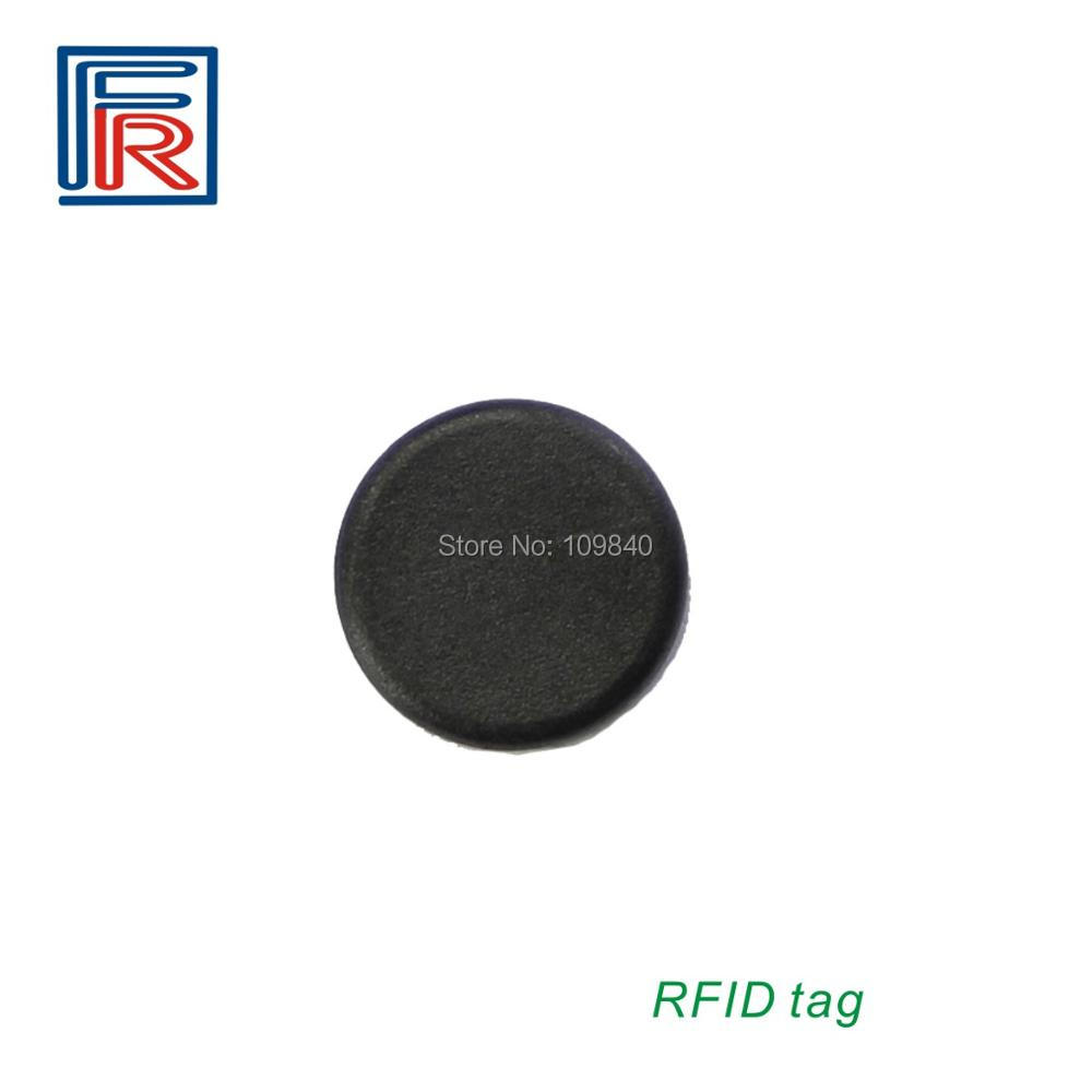 1000pcs 13.56mhz PPS  RFID High-temperature Laundry Tag with FM08 1K byte 20mm Diameter Proximity coin tag 100pcs high temperature resistant uhf rfid pps laundry tag small with alien h3 chip used for laundry management