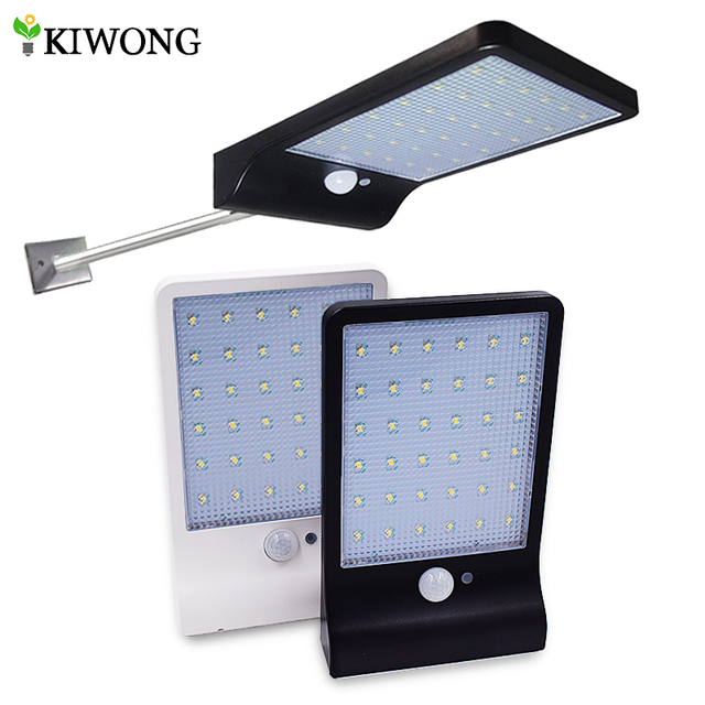Newest 450lm 36 Led Solar Street Light Pir Motion Sensor Lamps Garden Security Lamp Outdoor