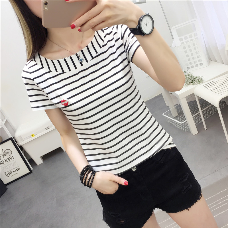 Loose T Shirt,Doodle Spring Nature Fashion Personality Customization